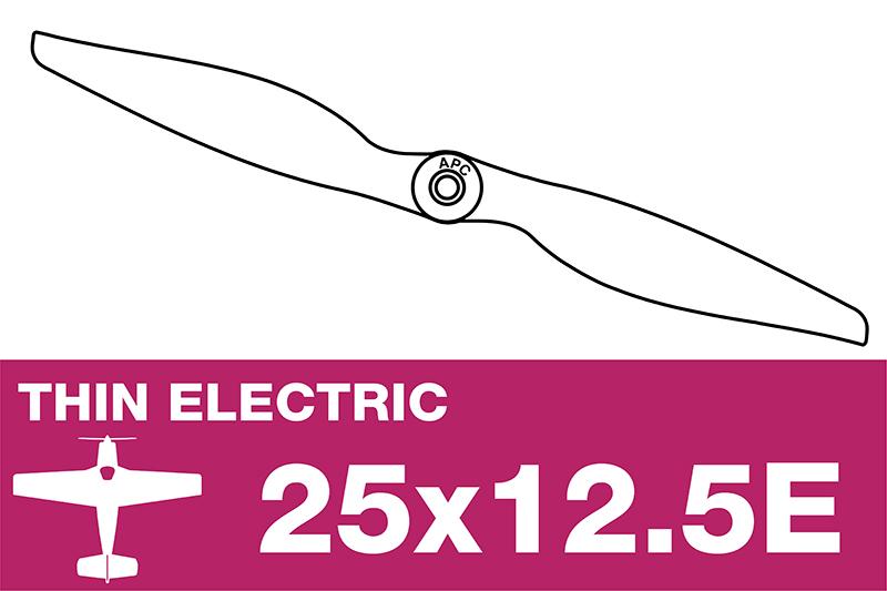 APC - Electro Propeller - Thin - 25X12.5E