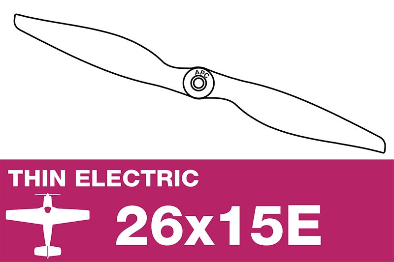 APC - Electro Propeller - Thin - 26X15E