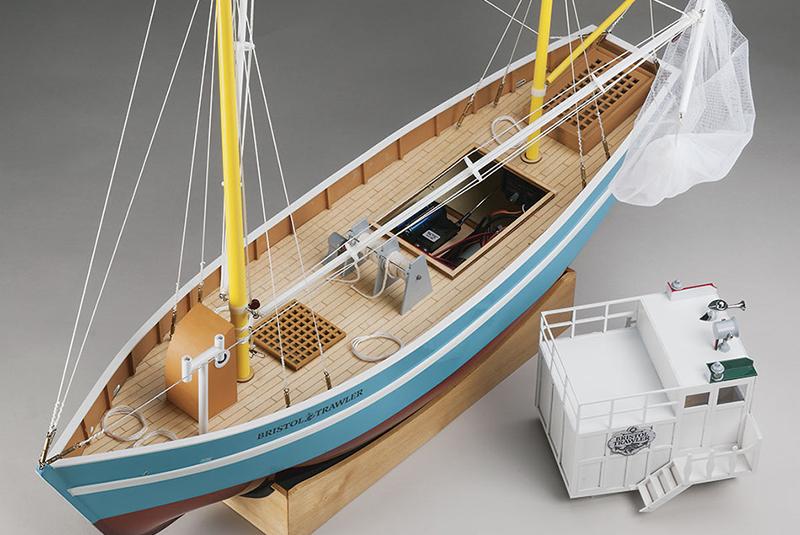 Aquacraft Model Kit Bristol Trawler Rtr 187 Scale