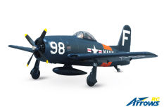 Arrows RC - F8F Bearcat - 1100mm - PNP - w/ Electric Retracts