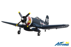 Arrows RC - F4U Corsair - 1100mm - PNP - w/ Electric Retracts