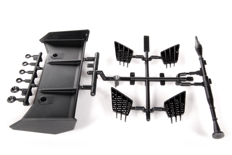 Axial - Rear Wing/Vents EXO