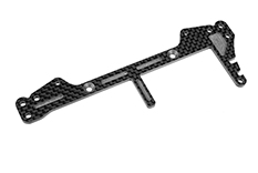 Team Corally - Rear Brace SSX-12 - Longitudinal - Graphite 2.5mm - 1 pc
