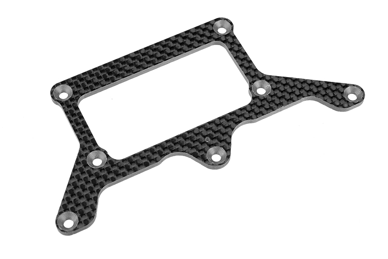 Team Corally - Rear Pod Lower Plate SSX-12 - Graphite 2.5mm - 1 pc