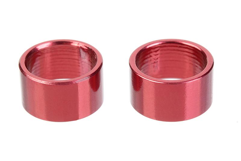 Team Corally - Alum. Spacer Ring - Inner Dia 6.35mm - Width 4.5mm - 2 pcs