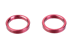 Team Corally - Alum. Spacer Ring - Inner Dia 6.35mm - Width 1.5mm - 2 pcs