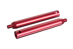 Team Corally - Alum. Side Linkage Damper Tube - 2 pcs