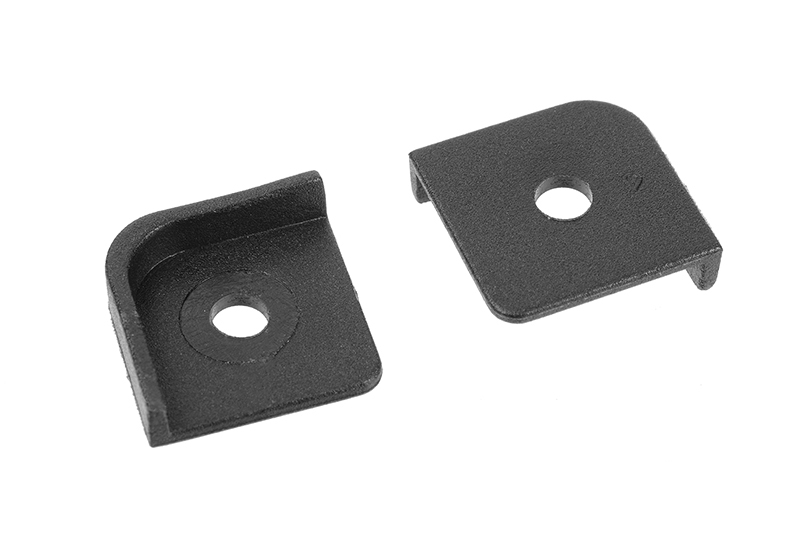 Team Corally - Composite Chassis Corner Protector - 2 pcs