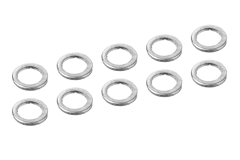 Team Corally - Alum. Shim Ring - ID 3mm - OD 4mm - 0.5mm - 10 pcs