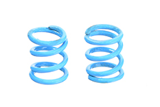 Team Corally - Front Spring Coils - Blue 0.6mm - Hard - 2 pcs