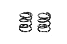 Team Corally - Front Spring Coils - Black 0.5mm - Medium - 2 pcs