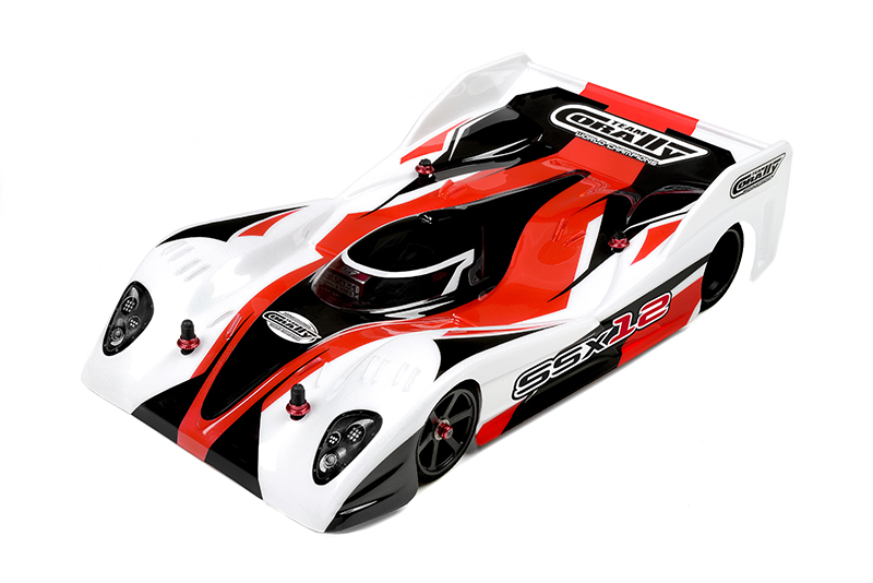 Team Corally - SSX-12 Car Kit - Chassis kit only - no electronics - no motor - no body - no tires