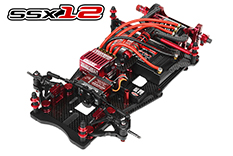 Team Corally - SSX-12 Car Kit - Chassis kit only - no electronics - no motor - no body - no tires - TEST