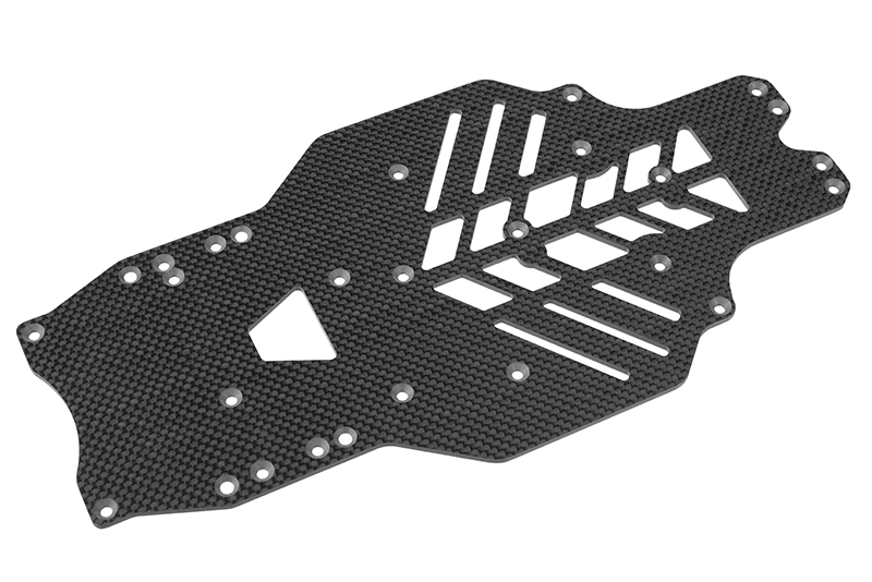 Team Corally - Chassis SSX-10 - Graphite 2.5mm - 1 pc