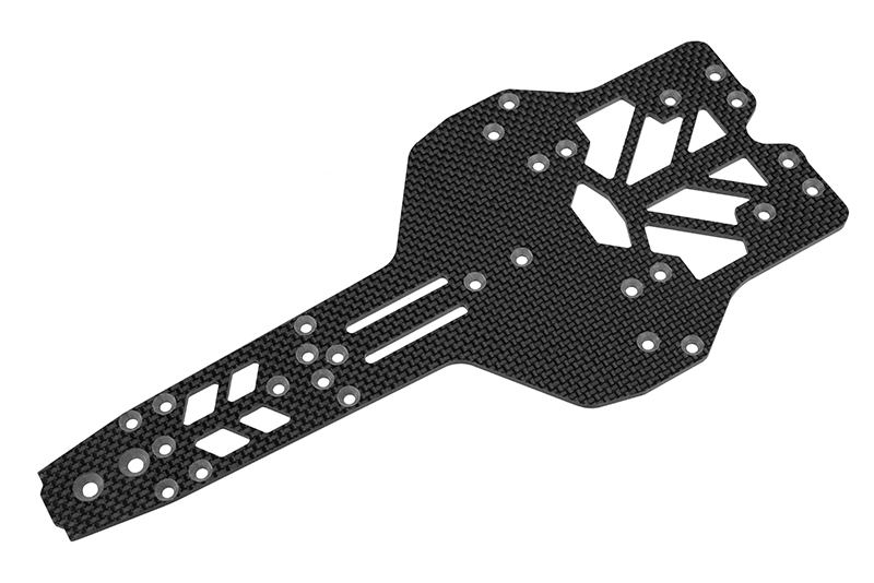 Team Corally - Chassis FSX-10 - Graphite 2.5mm - 1 pc