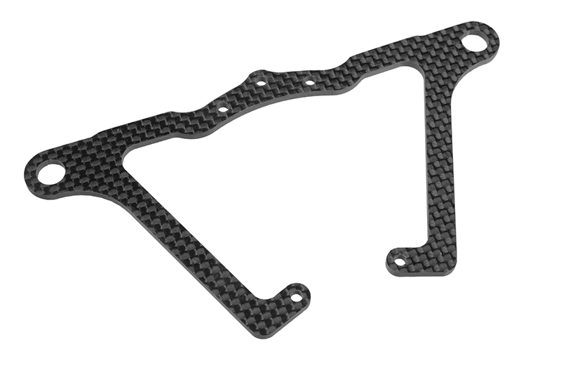 Team Corally - Front Suspension Arm FSX-10 - Lower - Graphite 2.5mm - 1 pc