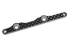 Team Corally - Rear Wing Bulkhead Plate FSX-10 - Graphite 2.5mm - 1 pc