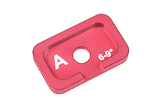 Team Corally - Alum. Caster Adjustment Plate FSX10 - A - 6° - 9° - 1 pc