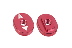 Team Corally - Alum. Excentric Camber Nut - A - 1° - 2 pcs