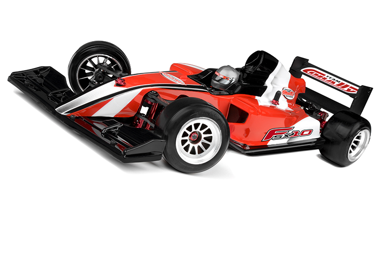 Team Corally - FSX-10 Car Kit - Chassis kit only - no electronics - no motor - no body - no tires