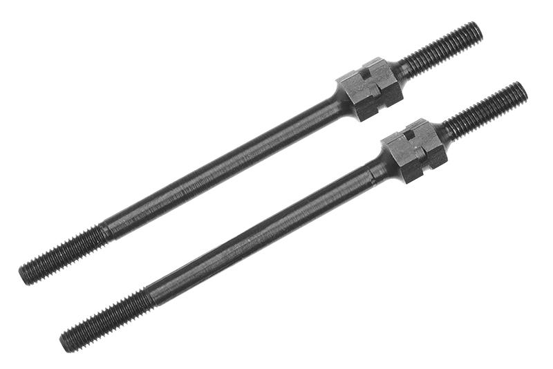 Team Corally - Steering Turnbuckle - 62mm - Steel - 2 pcs