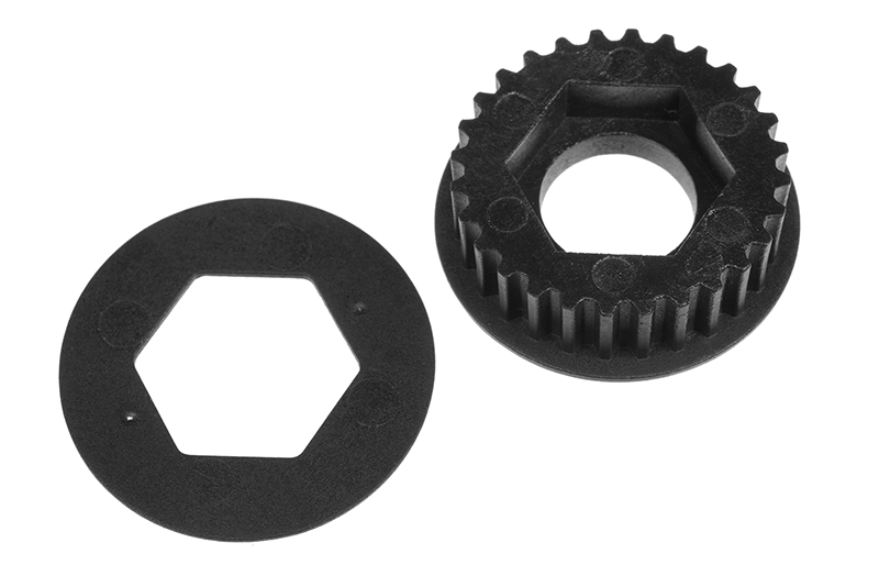 Team Corally - Composite Pulley 28T - 1 pc