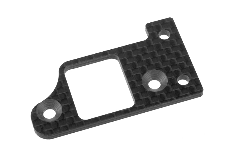 Team Corally - Transponder Plate SSX-8X 3K Carbon 1 pc