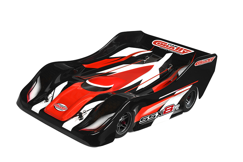 Team Corally - SSX-8R Car Kit - Chassis kit only, no electronics, no motor, no body, no tires