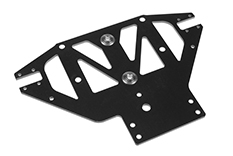 Team Corally - Front Lower Suspension Plate SSX-8S - G10 - spherical ball (2) included - 1 pc