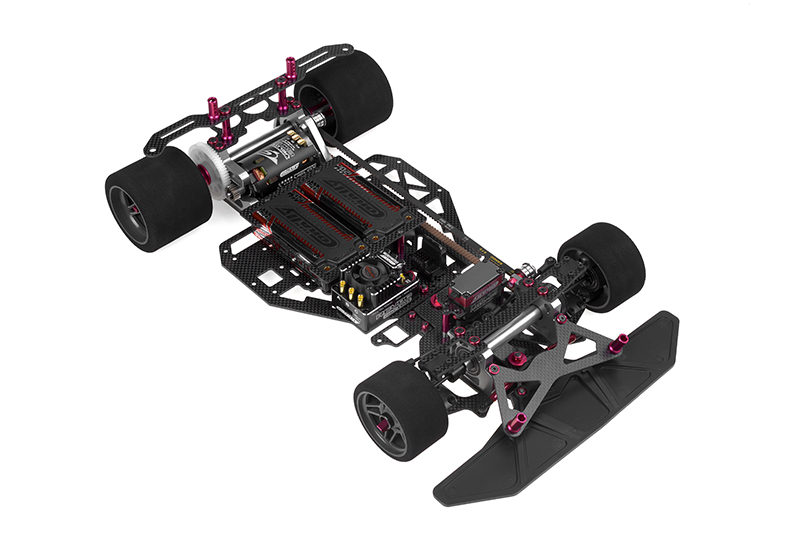 Team Corally - SSX-8X Car Kit - Chassis kit only, no electronics, no motor, no body, no tires
