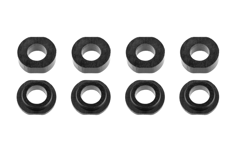 Team Corally - Shock Body Washer Insert - Composite - Part A/B - 4 sets