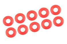 Team Corally - Shock Body O-Ring - Silicone - 2.9x6.5mm - 10 pcs