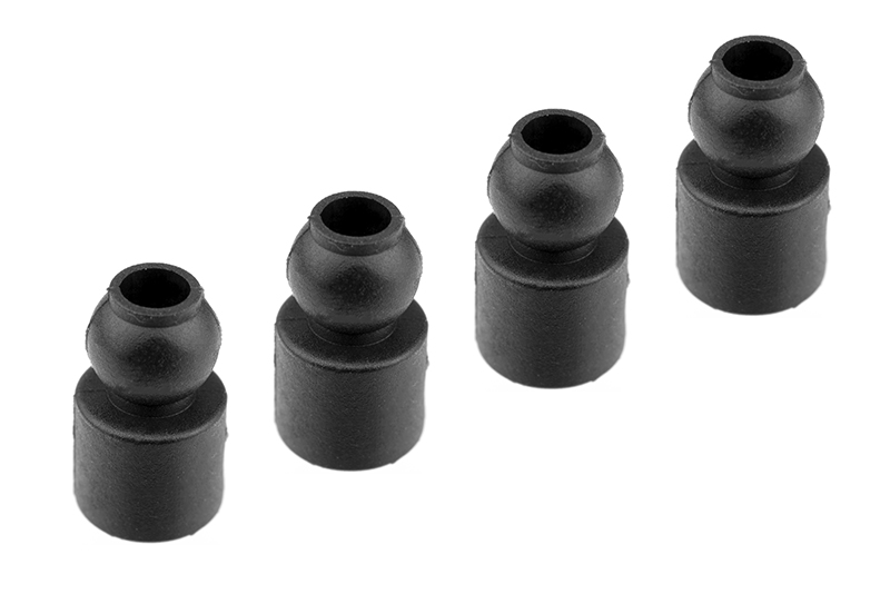 Team Corally - Shock Bushing - Composite - 4 pcs