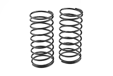 Team Corally - Shock Spring - Black - Medium - Front - 2 pcs