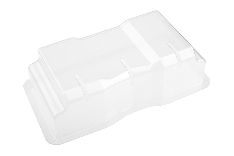 Team Corally - Wing - Clear - Polycarbonate - 1 pc
