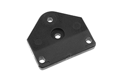 Team Corally - Plate for Rear Chassis Brace - Composite - 1 pc