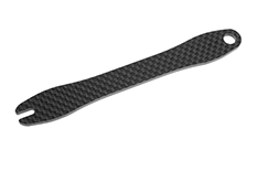 Team Corally - Battery Brace - Graphite 2mm - 1 pc