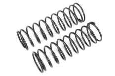 Team Corally - Shock Spring - Black - Hard - Rear - 2 pcs