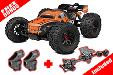 Team Corally - JAMBO XP 6S - 1/8 Monster Truck SWB - RTR - Brushless Power 6S - No Battery - No Charger