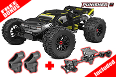 Team Corally - Punisher XP 6S - 1/8 Monster Truck LWB - RTR - Brushless Power 6S - No Battery - No Charger