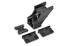 Team Corally - Wing Mount - V2 - Adjustable - Composite - 1 Set