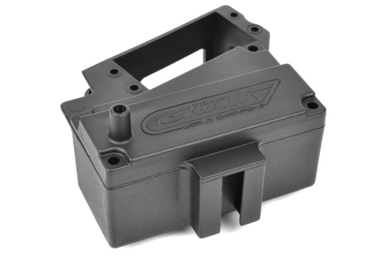 Team Corally - Servo Mount - Receiver Box - Composite - 1 Set