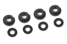 Shock Body Insert - Washer - Composite - 1 set (4+4pcs)
