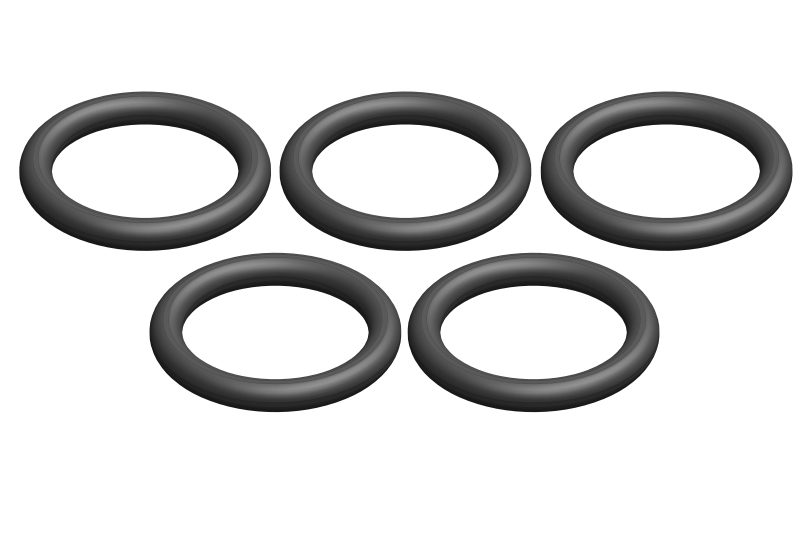 Team Corally - O-Ring - Silicone - 9x12mm - 5 pcs