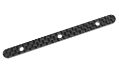 Team Corally - Chassis Brace Stiffener - Rear - fits part C-00180-016 - Graphite 2.5mm - 2 pcs