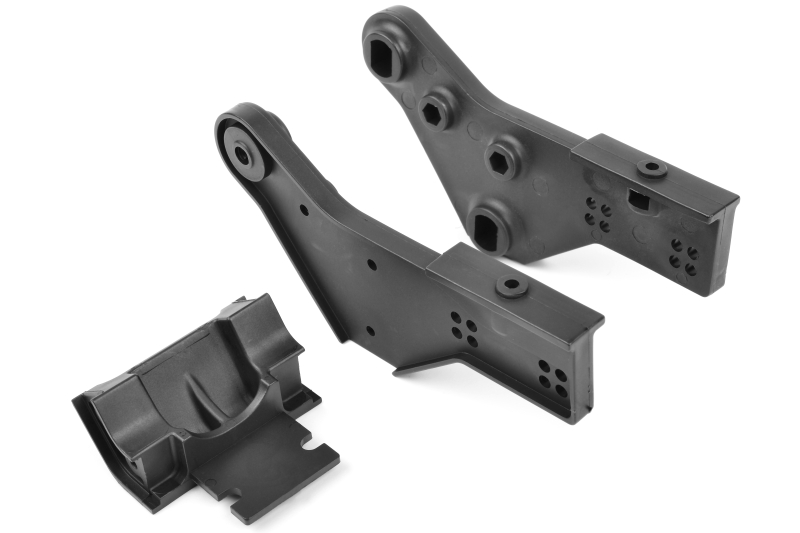 Team Corally - Wheelie Bar Mount - Left-Right - Composite - 1 set