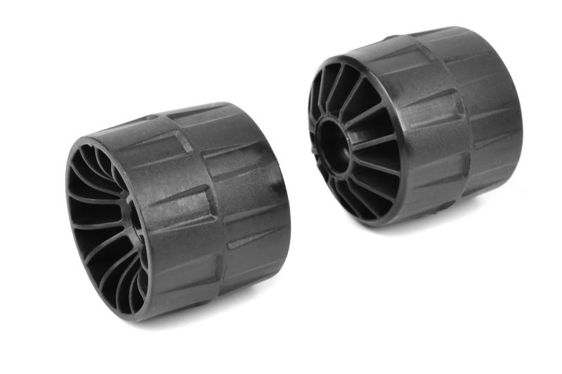 Team Corally - Wheelie Bar Wheels - Composite - 2 pcs