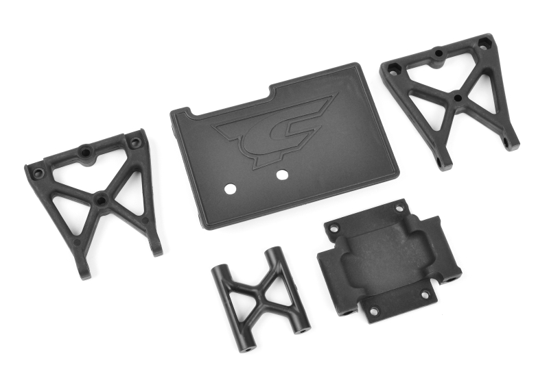 Team Corally - Center Roll Cage Mount - Composite - 1 Set
