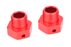 Team Corally - Wheel Hex Adapter - Wide RTR - Aluminum - 2 pcs