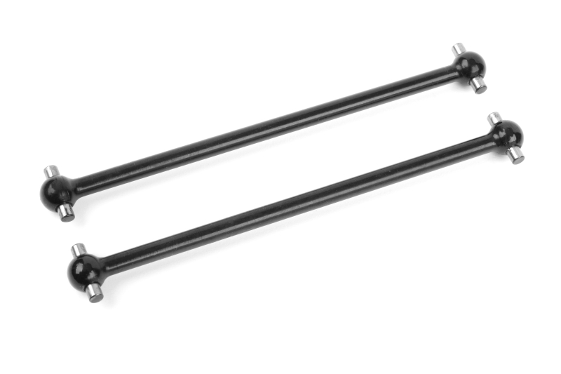 Team Corally - Dogbones - Short - Rear - Steel - 2 pcs